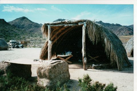 Ecomundo. This is not my picture, I found it on some other person's travel blog. Click to visit! I don't think there are hammocks in this hut, but this is where we hung ours up.