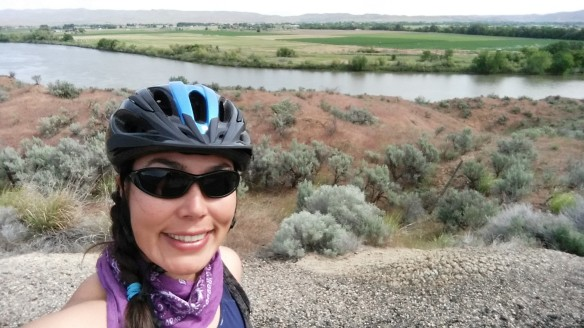 Can someone please send this picture to me in 1988? What would 1988 Amy say about 2015 Amy standing by the Snake River?