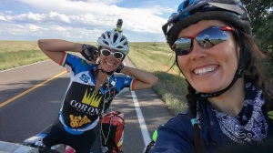 Claudia is from Italy! We didn't have much vocabulary in common, but she still managed to push me to cover 115 miles in one day.