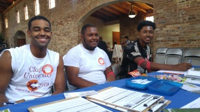 Clalflin students swabbing to save lives!