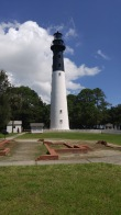 Hunting Island lighthouse.